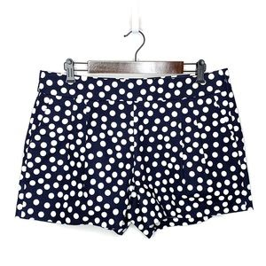 NEW! J Crew Cotton Scattered Polka Dots Shorts